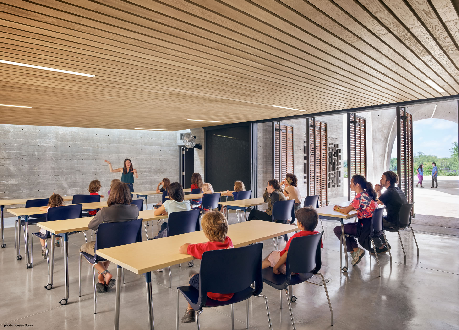 Confluence Park Inside Classroom with Children