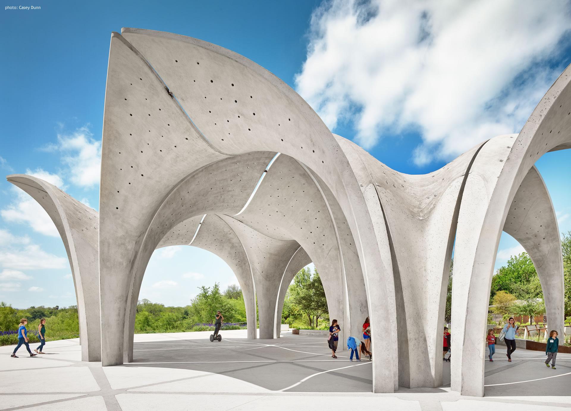 Confluence Park Pavilion Bright Sky