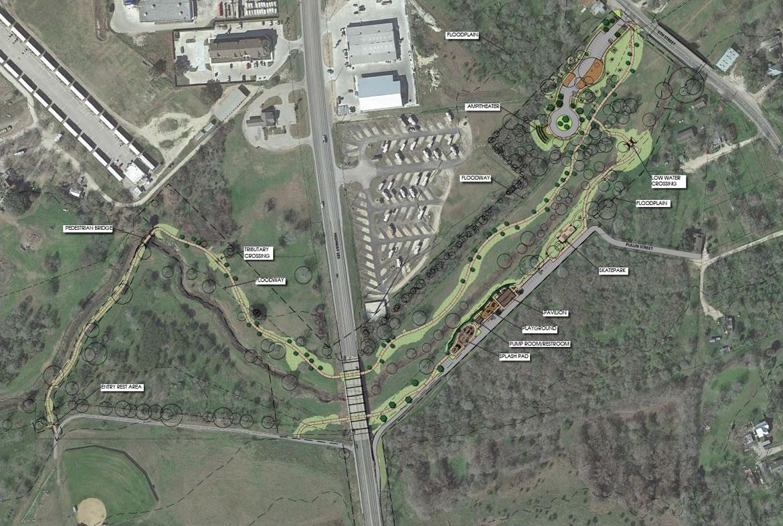 Escondido Creek Parkway Site Plan