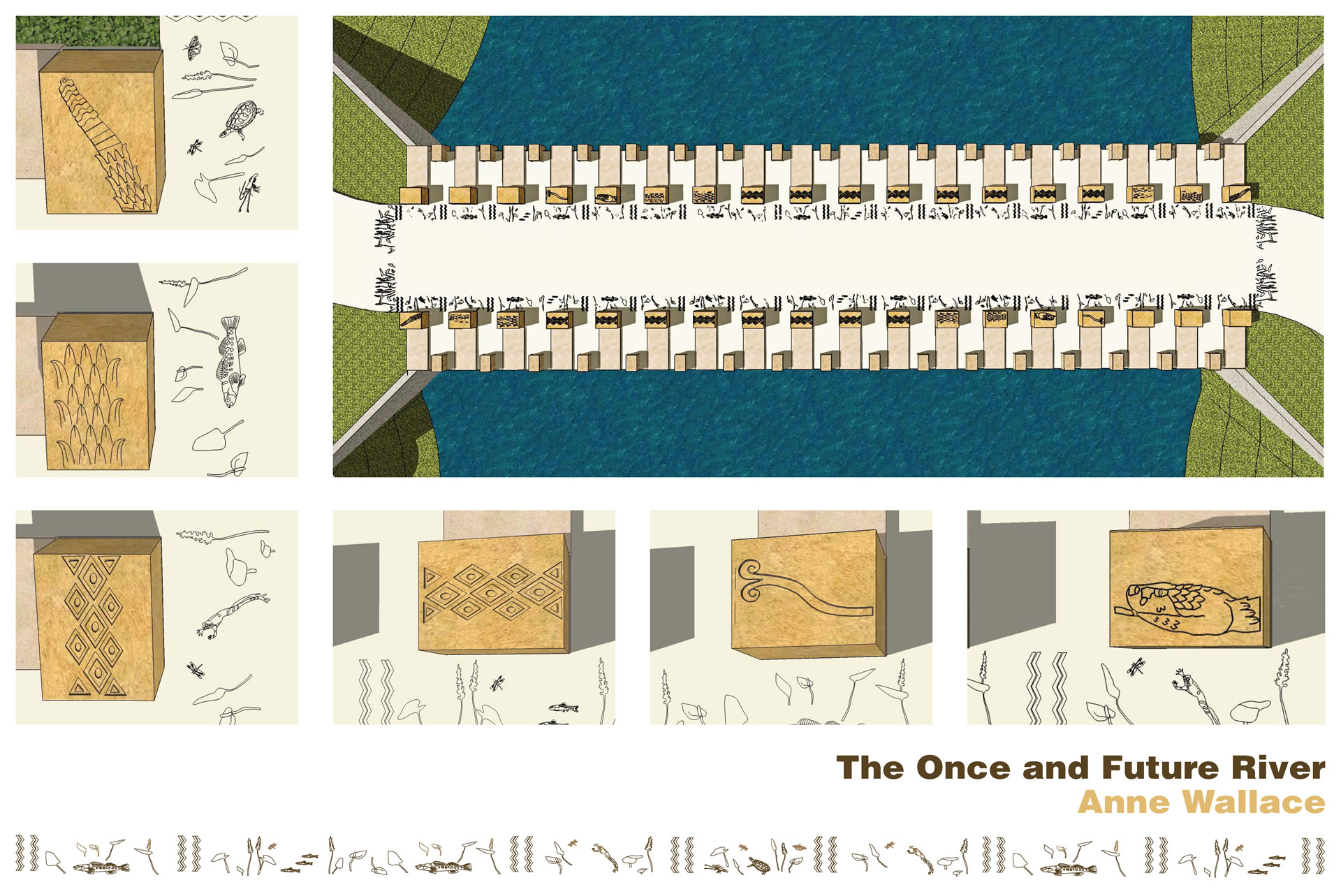 Anne Wallace | The Once and Future River rendering